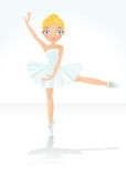 Beautiful dancing ballet Stock Photography