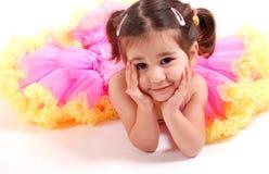 Beautiful dancing girl Royalty Free Stock Image