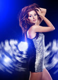 Beautiful dancing girl Royalty Free Stock Photos