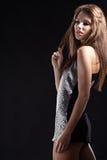 Beautiful dancing girl Stock Photo