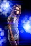 Beautiful dancing girl stock images