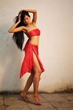Beautiful dancing girl Royalty Free Stock Images