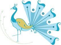 Beautiful Dancing Peacock Royalty Free Stock Images