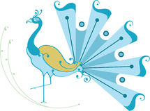 Free Beautiful Dancing Peacock Royalty Free Stock Images - 5097969