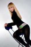Beautiful dancing woman Royalty Free Stock Image