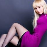 Beautiful dancing woman Royalty Free Stock Photos