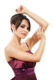 Beautiful dancing  woman Stock Image