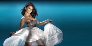 Beautiful dancing woman. Royalty Free Stock Image