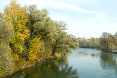 Beautiful Danube Royalty Free Stock Photography