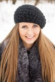 Beautiful dark blond haired girl Royalty Free Stock Images