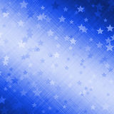 Beautiful dark blue background with stars Stock Image