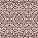 Beautiful dark brown pattern Royalty Free Stock Image