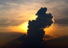 Cloudy Afternoon Sky Natural Photograph stock photos