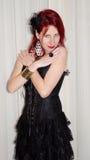 Beautiful dark lady Stock Photography