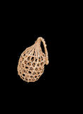 Beautiful date palm leaves woven small bird cage Stock Image