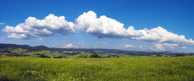 Beautiful Day. Scenic View in Germany / Thuringia Stock Photography