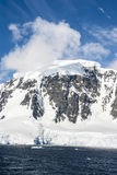 A beautiful day in Antarctica Stock Photography