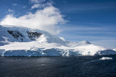 A beautiful day in Antarctica Stock Image