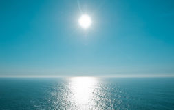Beautiful day on Atlantic Ocean Stock Image