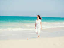Beautiful day on the beach Royalty Free Stock Photo