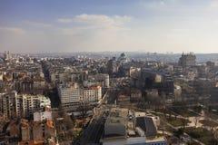Beautiful day in Belgrade stock images