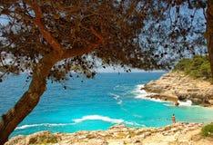 Beautiful day in Croatia Stock Images