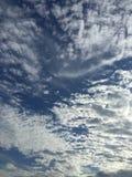 Beautiful day. Gorgeous cloud blue sky Royalty Free Stock Photos