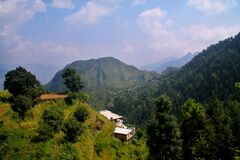 Beautiful Day in  Himalayan Village, Nature Photography