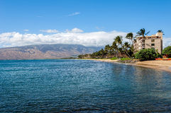 Beautiful Day Maui stock photo