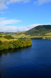 A Beautiful Day Over Loch Ness and the Scottish Highlands Stock Photography