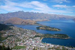 Beautiful day in Queenstown Stock Image