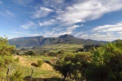 Beautiful day in Reunion. Beautiful summer day in Reunion island Stock Image
