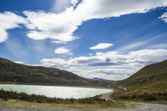 A Beautiful Day in Torres del Paine National Park Royalty Free Stock Images