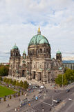 Beautiful day view of Berlin Cathedral (Berliner Dom), Royalty Free Stock Photos