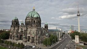 Beautiful day view of Berlin Cathedral Stock Photography