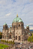 Beautiful day view of Berlin Cathedral Royalty Free Stock Images