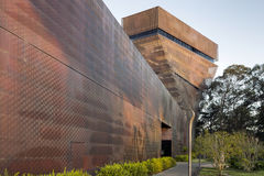Beautiful Daytime Exterior of de Young Museum Royalty Free Stock Photo