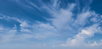 Beautiful daytime sky - natural background Stock Image
