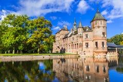 Beautiful De haar castle, Holland Royalty Free Stock Photography