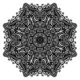 Beautiful Deco Abstract Circle, Mandala Stock Photo