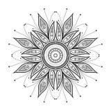 Beautiful Deco Mandala Royalty Free Stock Photos