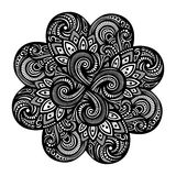 Beautiful Deco Mandala (Vector) Stock Photography