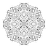 Beautiful Deco Mandala (Vector) Royalty Free Stock Photo