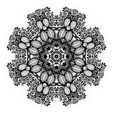 Beautiful Deco Mandala (Vector) Royalty Free Stock Photography