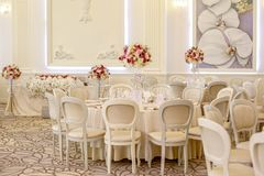 Beautiful decor for wedding royalty free stock photography