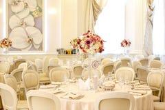 Beautiful decor for wedding royalty free stock photos