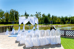 Beautiful decor for wedding Stock Images