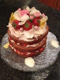 Beautiful decorated cake Stock Image