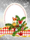 Beautiful decorated Christmas tree Stock Image