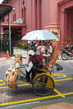 Beautiful Decorated Trishaw in Melaka Royalty Free Stock Photography